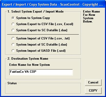National Association  Stock  Auto Racing Scanner on Export   Import   Copy System Data  Dma Radios